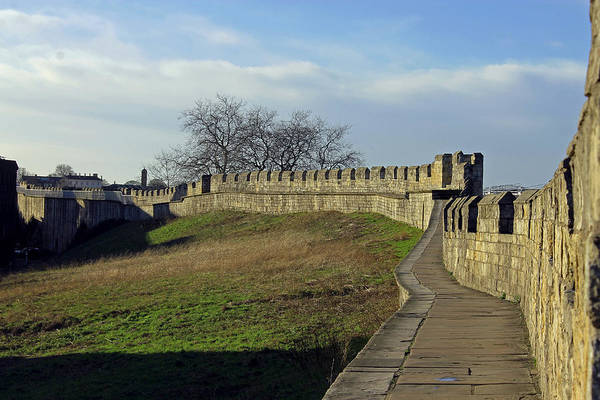 Photograph - York City Walls by Tony Murtagh