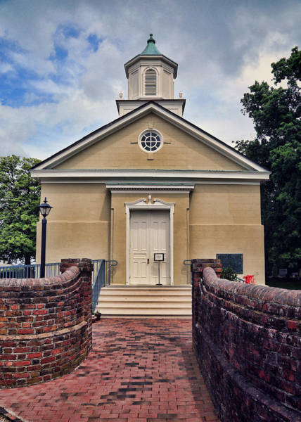 Greek Revival Architecture Photograph - York-hampton Parish Church by Stephen Stookey