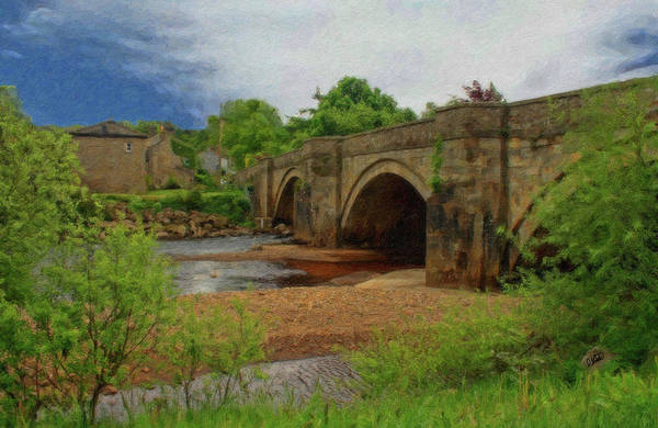 Painting - Yorkshire Bridge - P4a16015 by Dean Wittle