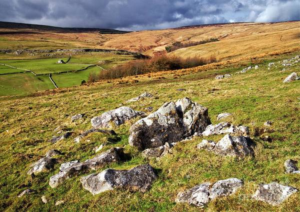 Photograph - Yorkshire Dales Limestone Countryside by Martyn Arnold