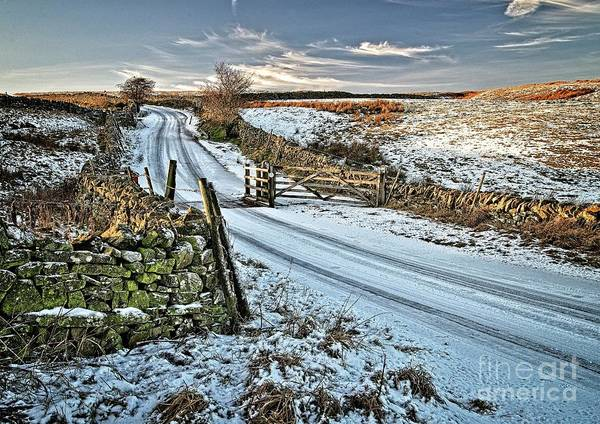 Photograph - Yorkshire Dales Winter Landscape by Martyn Arnold