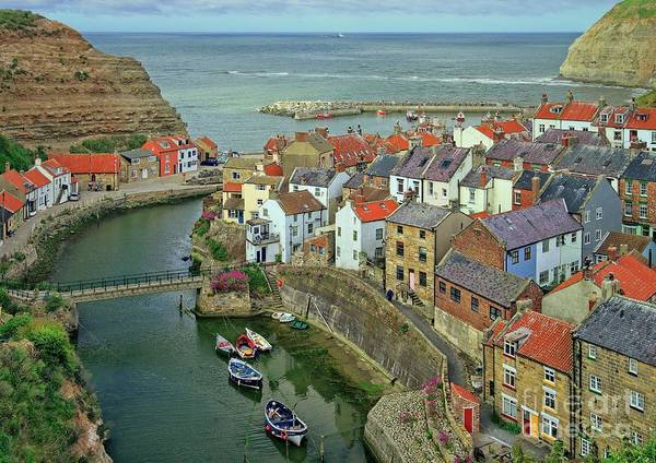 Photograph - Yorkshire Fishing Village by Martyn Arnold