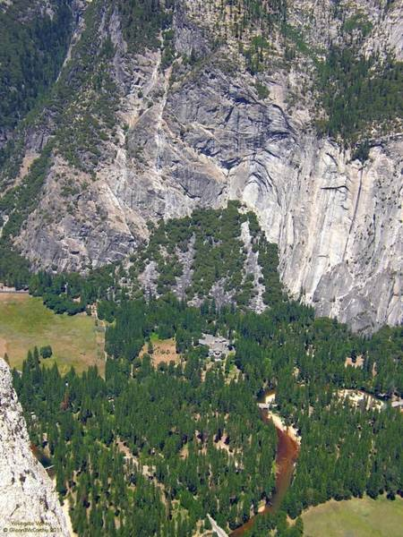 Photograph - Yosemite Aerial View - California by Glenn McCarthy Art and Photography