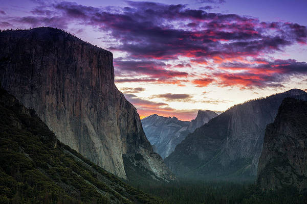 Wall Art - Photograph - Yosemite After Sunset by Andrew Soundarajan