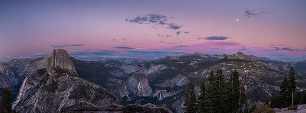Wall Art - Photograph - Yosemite At Dusk by Thorsten Scheuermann