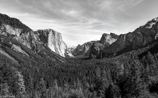 Photograph - Yosemite B/w by Mike Ronnebeck