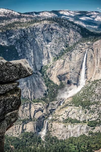 Wall Art - Photograph - Yosemite Falls From Glacier Point by Tim Sullivan