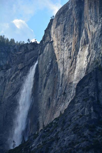 Photograph - Yosemite Falls Shadows by Kyle Hanson