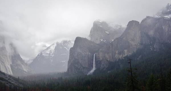 Photograph - Yosemite From Artist Point by Phyllis Spoor