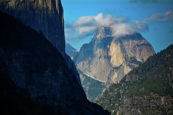 Photograph - Yosemite Half Dome Clouds by Kyle Hanson