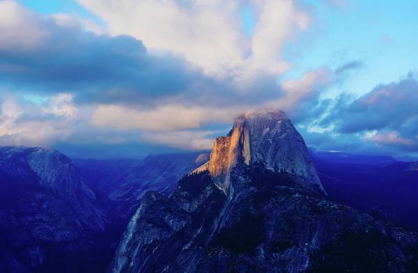 Photograph - Yosemite Half Dome Sunset by Kyle Hanson