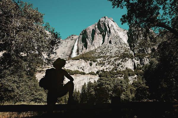 Photograph - Yosemite Hiker by Marji Lang