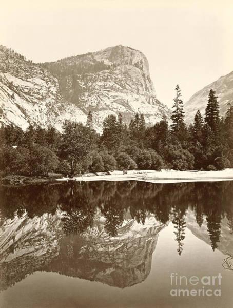 Photograph - Yosemite, Mirror Lake, C1865.  by Granger
