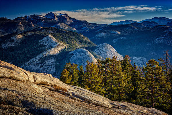 Dome Peak Photograph - Yosemite Morning by Rick Berk