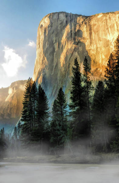 Painting - Yosemite National Park El Capitan by Christopher Arndt