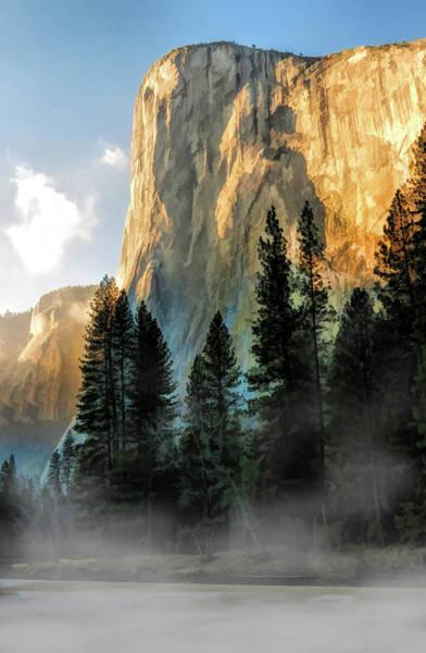 El Capitan Wall Art - Painting - Yosemite National Park El Capitan by Christopher Arndt