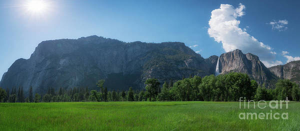 Photograph - Yosemite National Park Panorama by Michael Ver Sprill