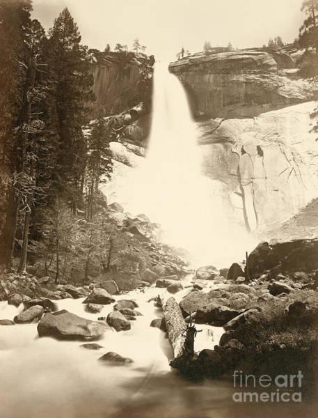 Photograph - Yosemite, Nevada Fall.  by Granger