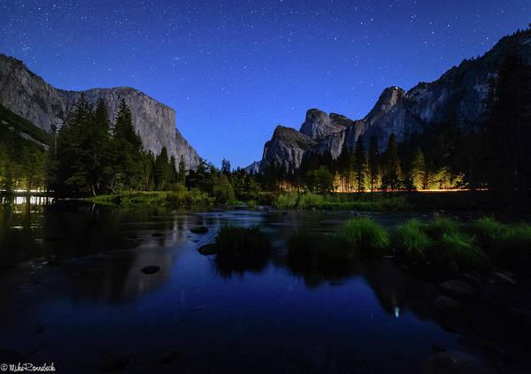 Photograph - Yosemite Nights by Mike Ronnebeck