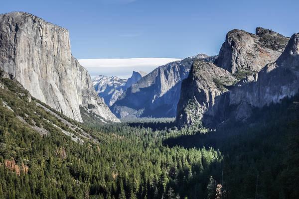 Photograph - Yosemite Tunnel View by Adam Rainoff
