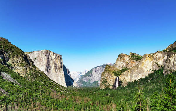 Photograph - Yosemite Valley- by JD Mims
