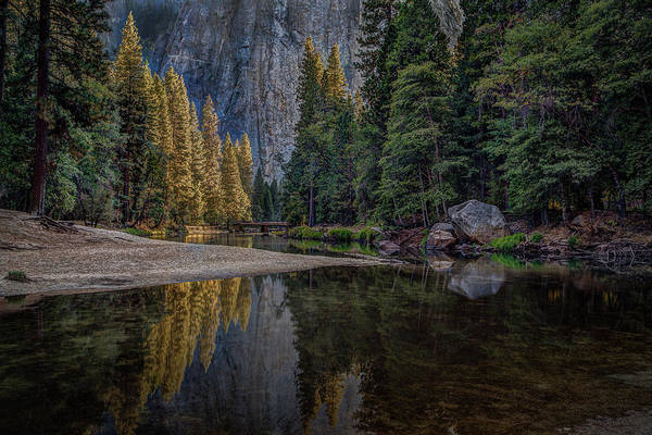 Photograph - Yosemite Valley Reflections by Rick Strobaugh