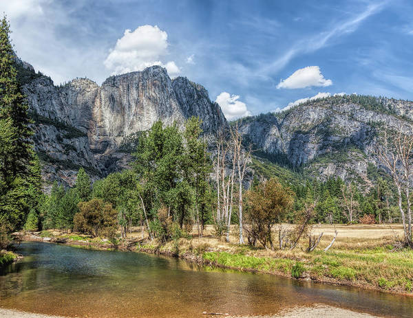Photograph - Yosemite Valley River by John M Bailey