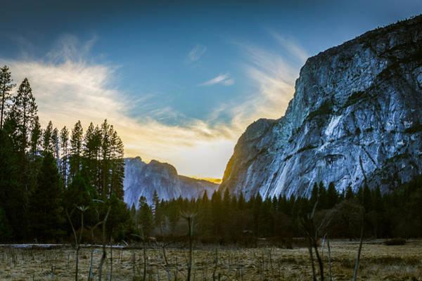 Photograph - Yosemite Valley Sunset by Adam Rainoff