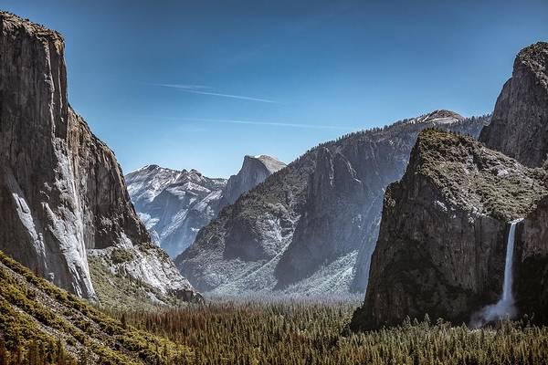Wall Art - Photograph - Yosemite Valley by Tim Sullivan