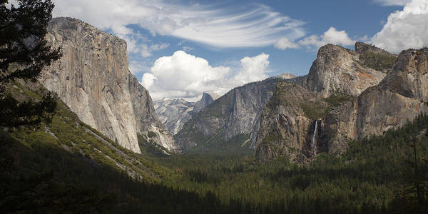 Photograph - Yosemite Valley - Tunnel View by Harold Rau