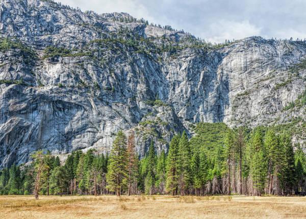 Photograph - Yosemite Valley Wall by John M Bailey