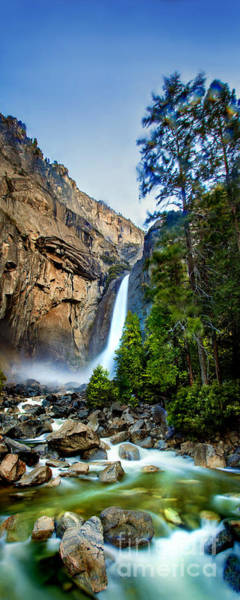 Beautiful Park Photograph - Yosemite Waterfall by Az Jackson