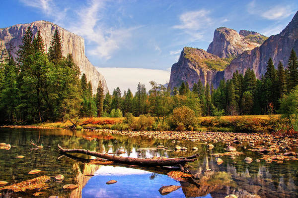 Photograph - Yosemite's Valley View by Lynn Bauer