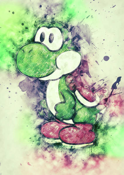 Digital Art - Yoshi by Zapista Zapista