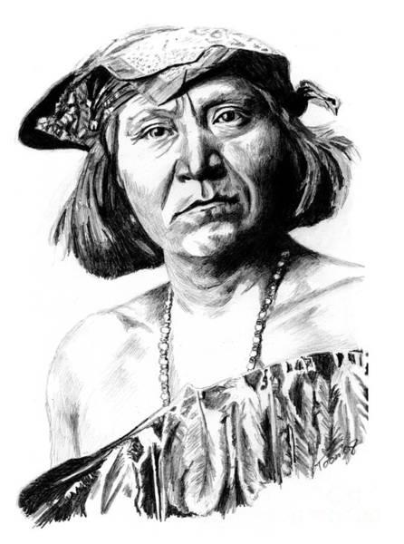 Drawing - Yoshona by Toon De Zwart