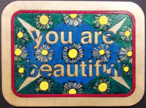 Emanate Painting - You Are Beautiful 4 by William Douglas
