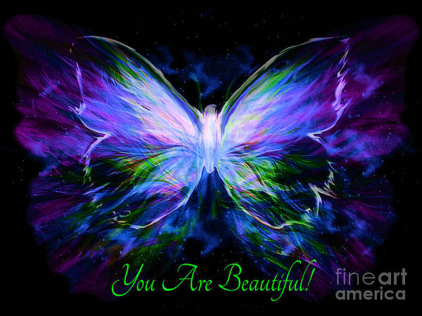Painting - You Are Beautiful  by Pam Herrick