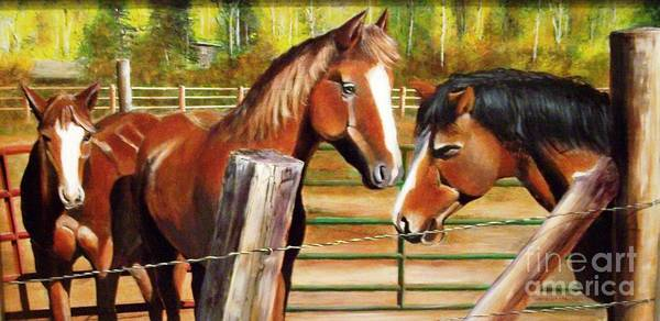 Horsemanship Painting - You Are Late by David Ackerson