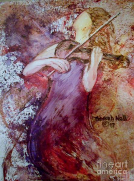 Painting - You Are My Hallelujah by Deborah Nell