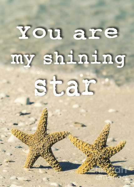 Partner Photograph - You Are My Shining Star by Edward Fielding