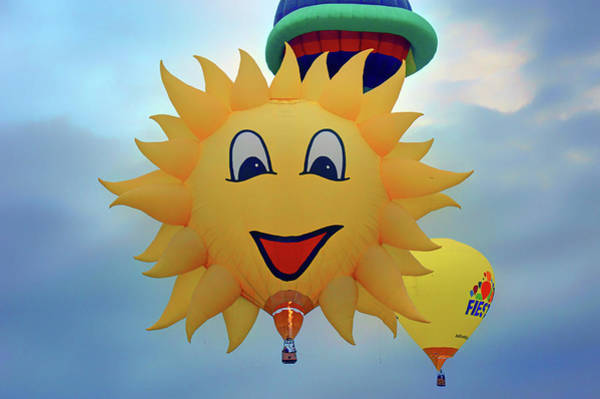 Wall Art - Photograph - You Are My Sunshine - Hot Air Balloon by Nikolyn McDonald