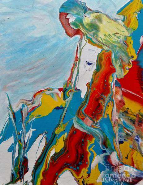 Painting - You Bring The Color by Deborah Nell