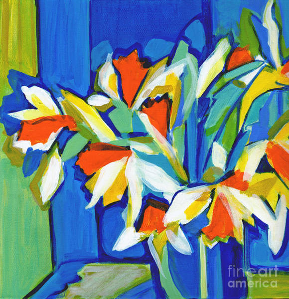 Painting - You Can Never Hold Back Spring by Tanya Filichkin