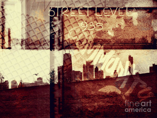 Graffiti Photograph - You Held My Hand Softly Through The Humid Summer Streets by Dana DiPasquale