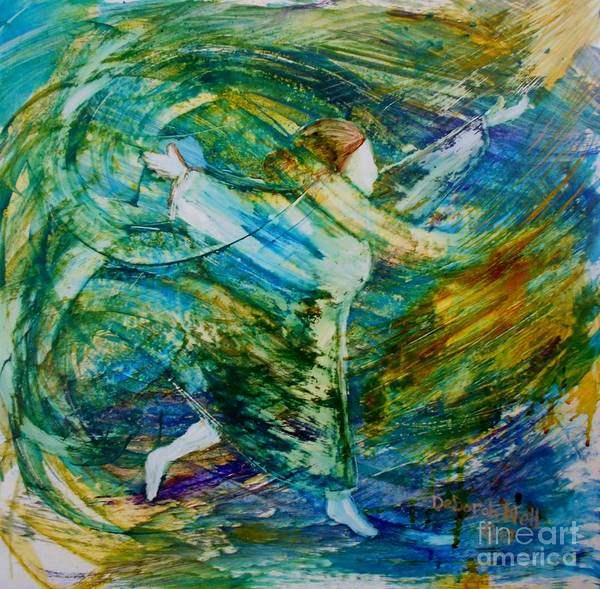 Painting - You Make Me Brave by Deborah Nell