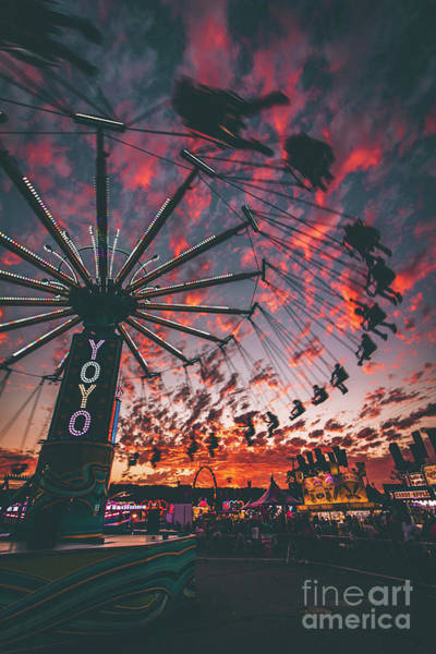 County Fair Photograph - You Only Live Once by Rami Ruhman