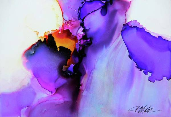 Painting - You Set My Soul On Fire by Tracy Male