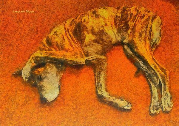 Primal Painting - You Speak Too Much 2 - Pa by Leonardo Digenio