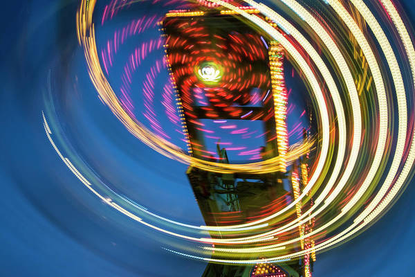 Photograph - You Spin Me Right Around by Alex Lapidus