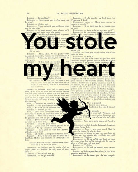 Wall Art - Digital Art - You Stole My Heart, Cupid by Madame Memento